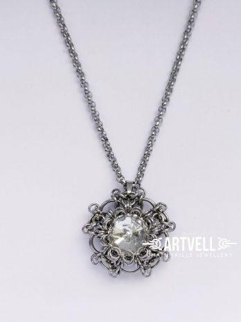 Wisior Medalion crystal